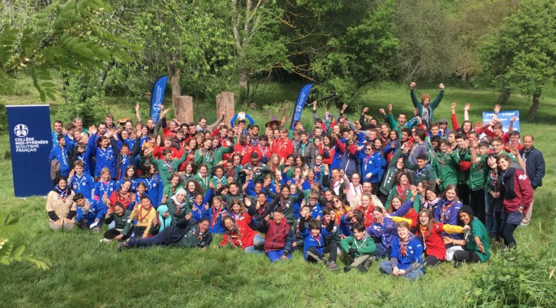 mini camp du scoutisme Français