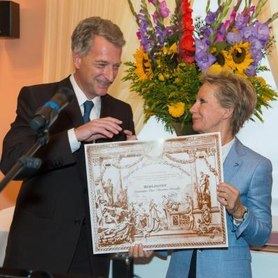 le Grand Prix de Mérite et de Prestige européen pour l'action de Biblionef