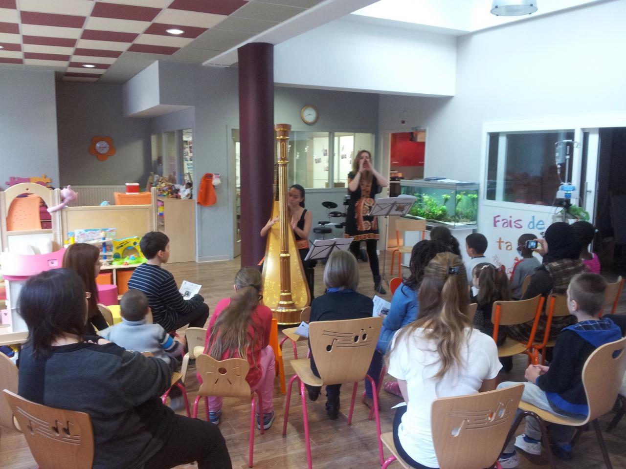 Jeunes Talents- le programme de solidarité du groupe à l'Hopital R.Debre
